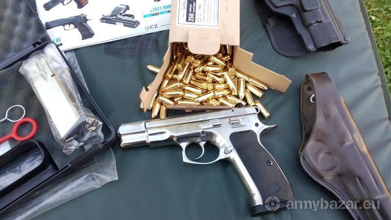 Pistol ČZ 75-9m LUGER NEREZ CZ- USA.