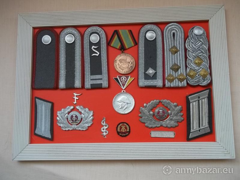 Nášivky, nárameníky, odznaky, medaile