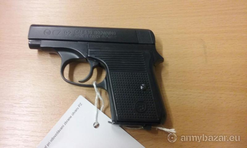 Pištoľ CZ 92 kal: 6,35