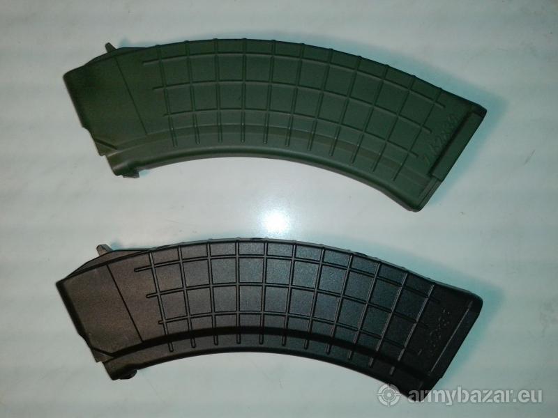 Magazynek AK polimerowy czarny zielony