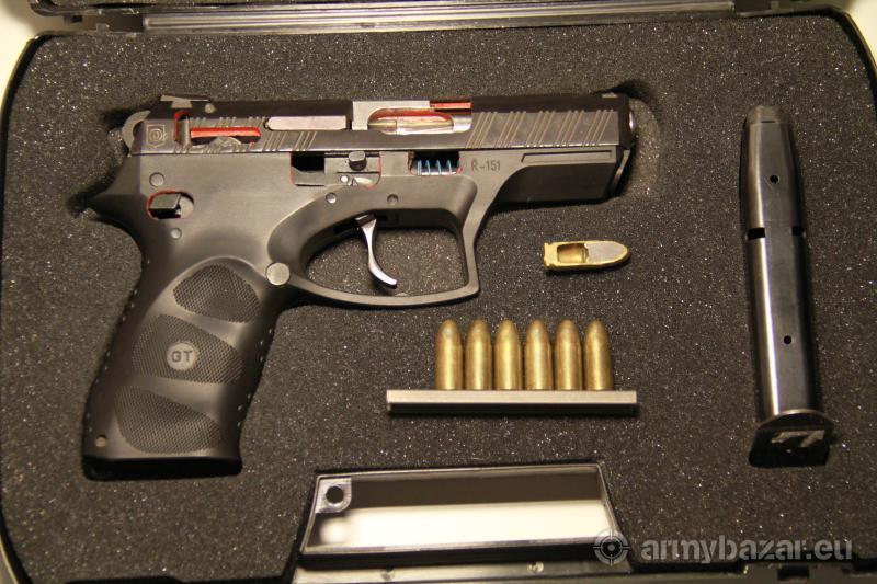 pištoľ ČZ G2000-výukový rez