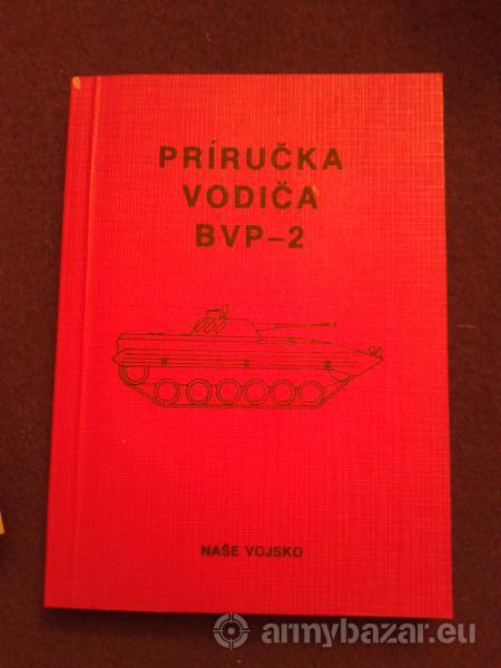 Návod k obsluhe, príručka vodiča BVP-2