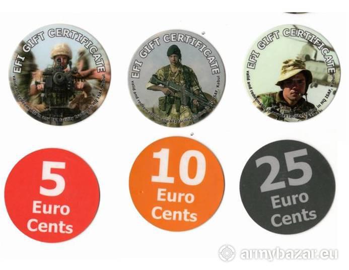 POGs - plastové mince Expedičných síl