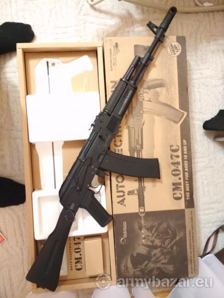 Cyma CM047C Full Metal AK 74M típusú AEG