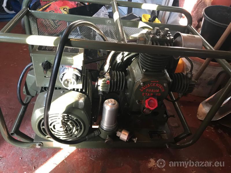 Vysokotlaký kompresor