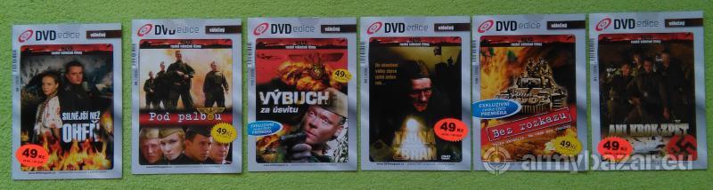 DVD - Vojnové filmy