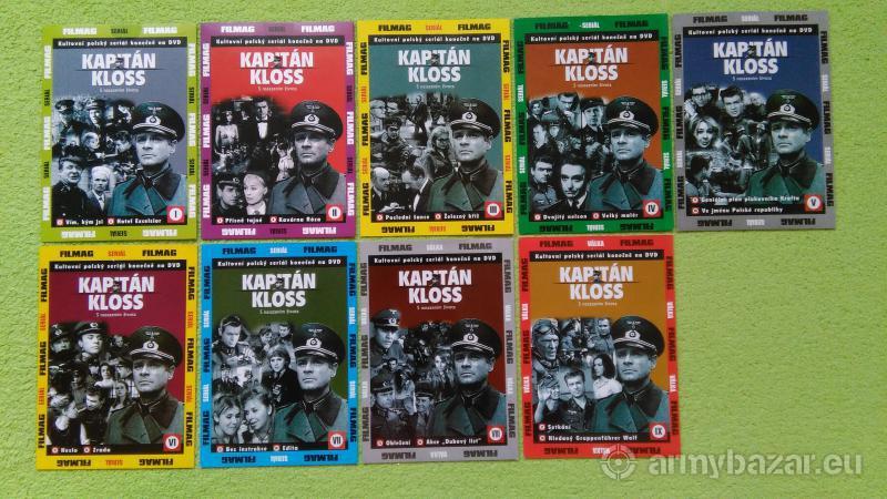 DVD - Kapitan Kloss komplet