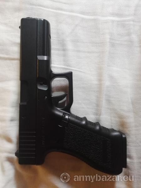 Predám Glock 18c AEP, helmu a taktické okuliare