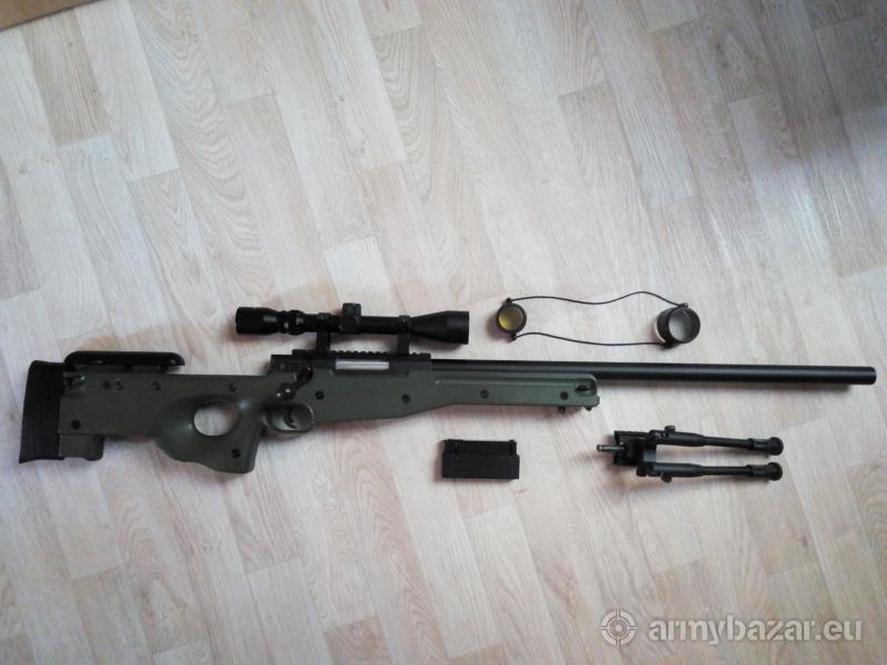 Airsoftová zbraň L69 (MB01C) + upgrade