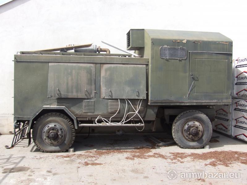 Rewelacyjny Mobilny agregat wojskowy PAD 100 TY02