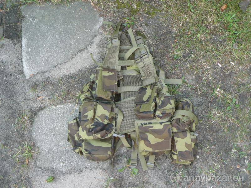 Taktická vesta ČR , maskovací celta