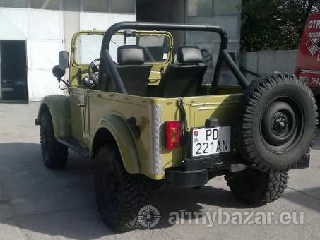 Vozidlo Gaz 69