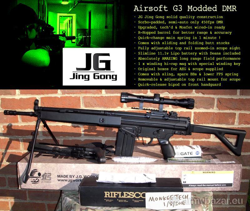 MONKEETECH - UPGRADED JING GONG G3 DMR