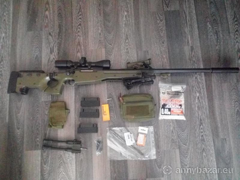 Airsoftová sniperská puška Well MB08