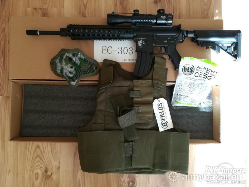 EC SR-15 + příslušenství