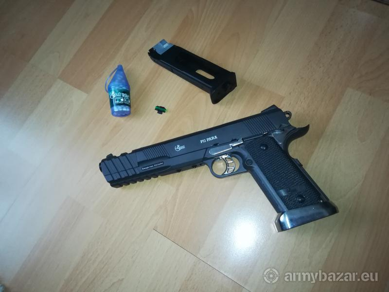 Airsoft COMBAT ZONE P11 PARA NA CO2 BOMBIČKY