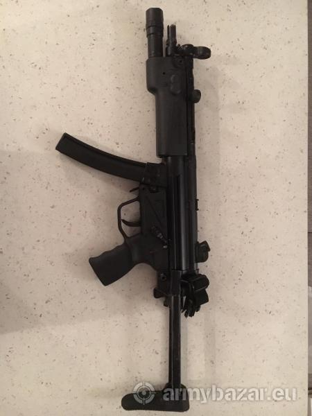 Predám samonabíjaciu guľovnicu MP5 (LuxDefTec)