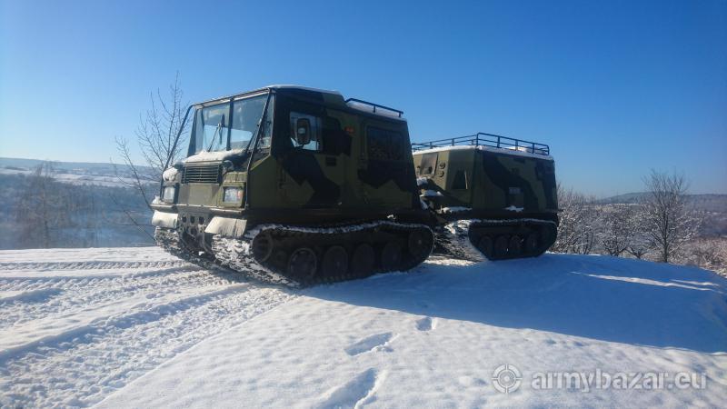 Pojazd gasienicowy amfibia Sisu BV