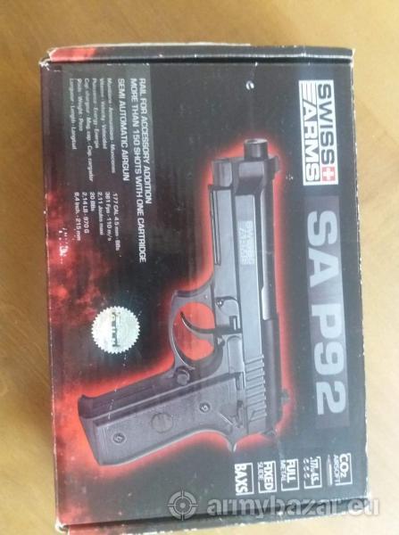 plynova pistol Beretta