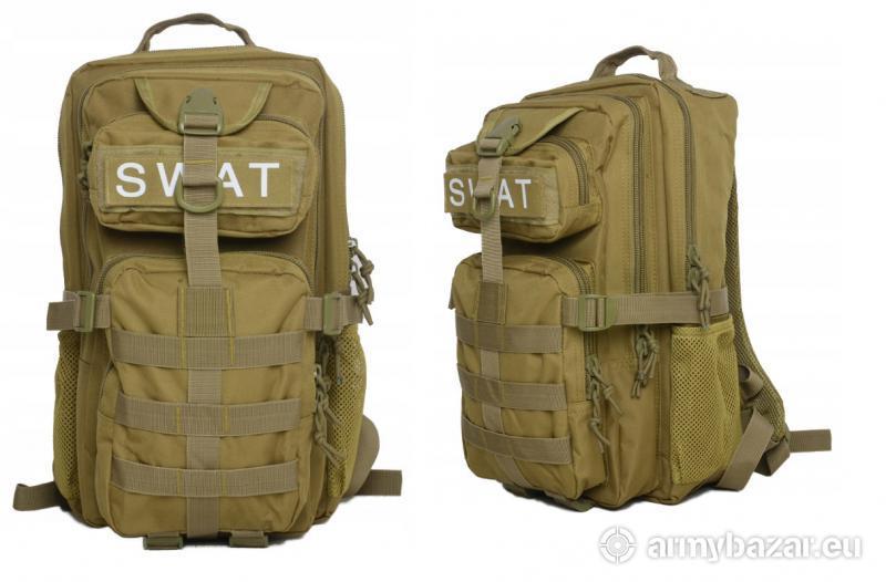 Vojenský ruksak SWAT army green