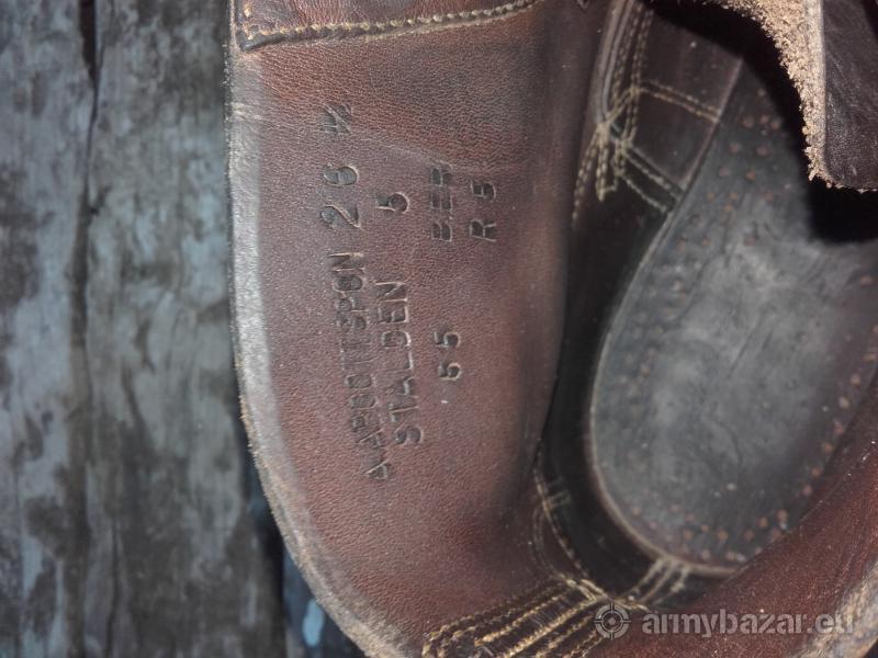 Tricouni swiss boots