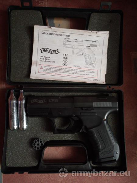 Eladó Walther cp99 plusz egy crosman ajándék!!
