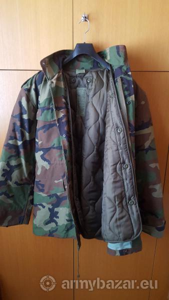 zimná maskačová bunda