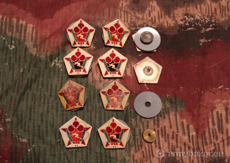 Odznaky ČSĽA VOZ II