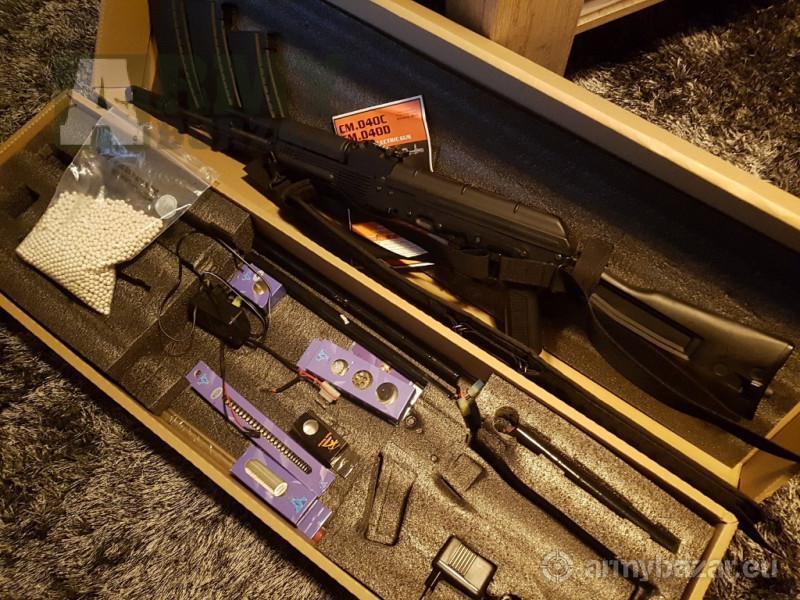 Prodám AK-74M SHS upgrade (CYMA CM.40C)