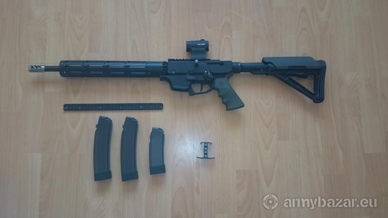 Pušková karabína 9 mm Luger