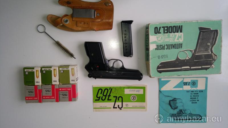 Pištol CZ 70