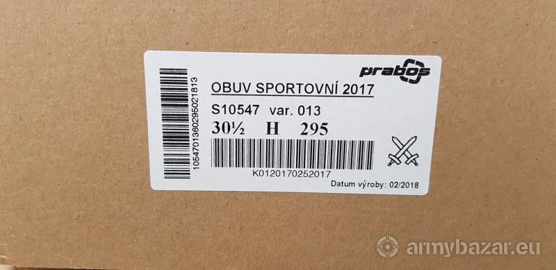 Prodám obuv sportovní 2017