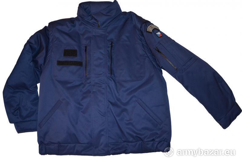 Nová modrá bunda 2000 ke stejnokroji 97