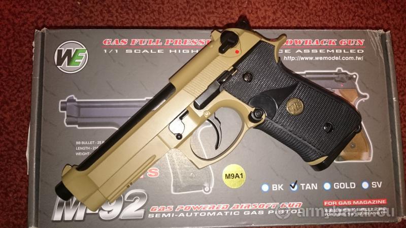 Airsoftová pištoľ beretta M9 GBB