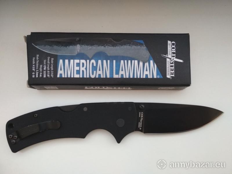 Predam novy noz Cold Steel American Lawman 58B