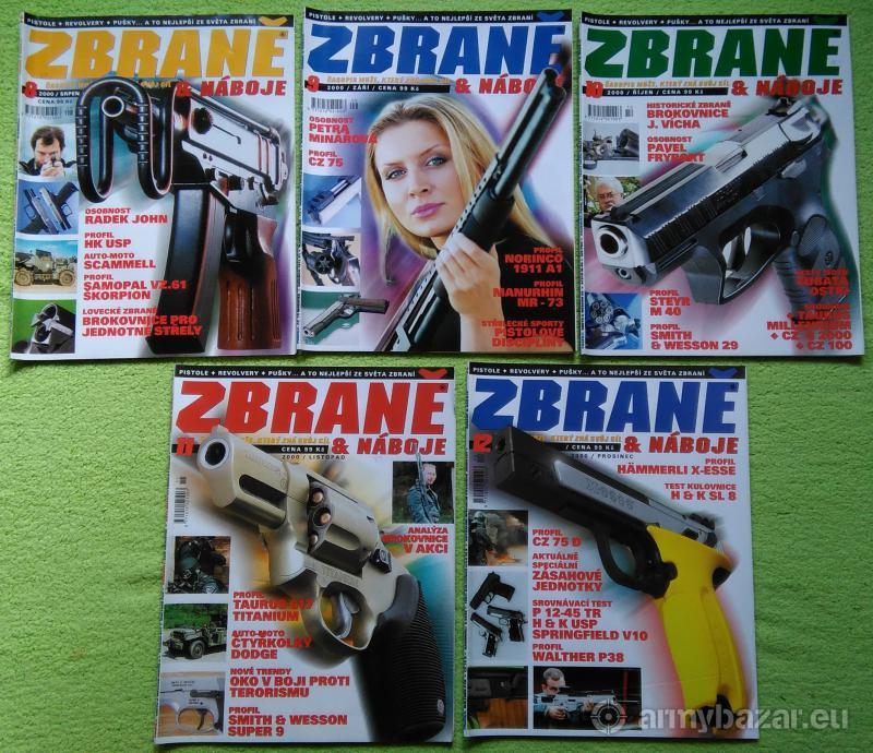 Časopisy Zbraně & náboje