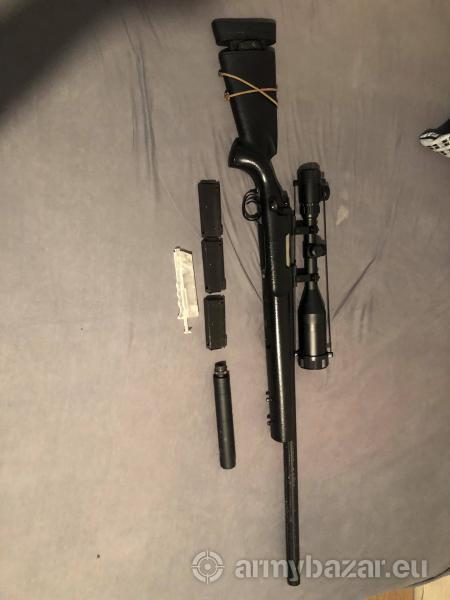 Eladó Airsoft A&K S24 Mesterlövész puska