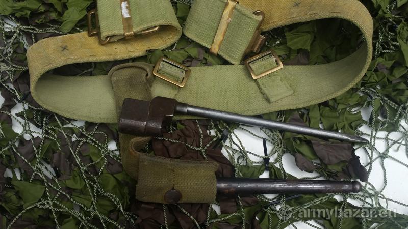 ww11  lee enfield complete original bayonet