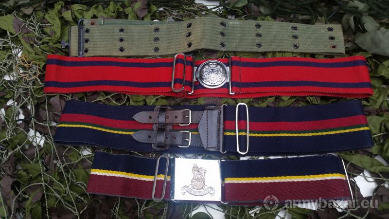 army belts for sale all in good condition