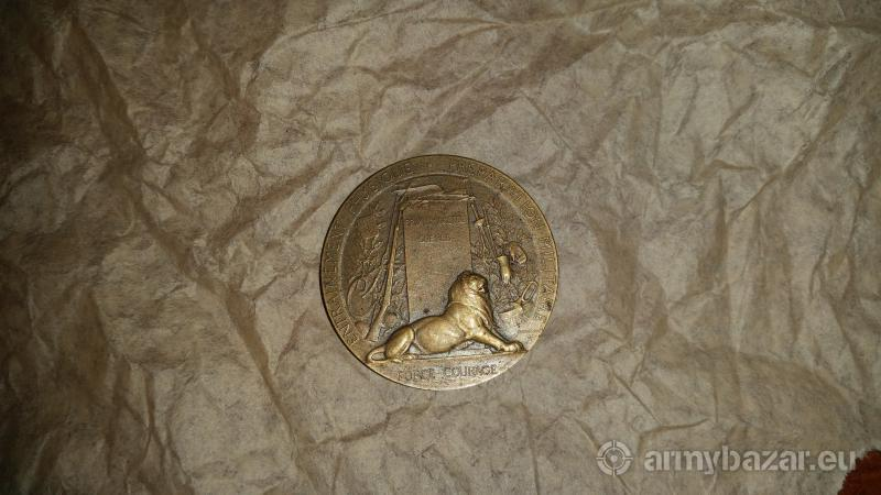 french medal for fitness its in great condition