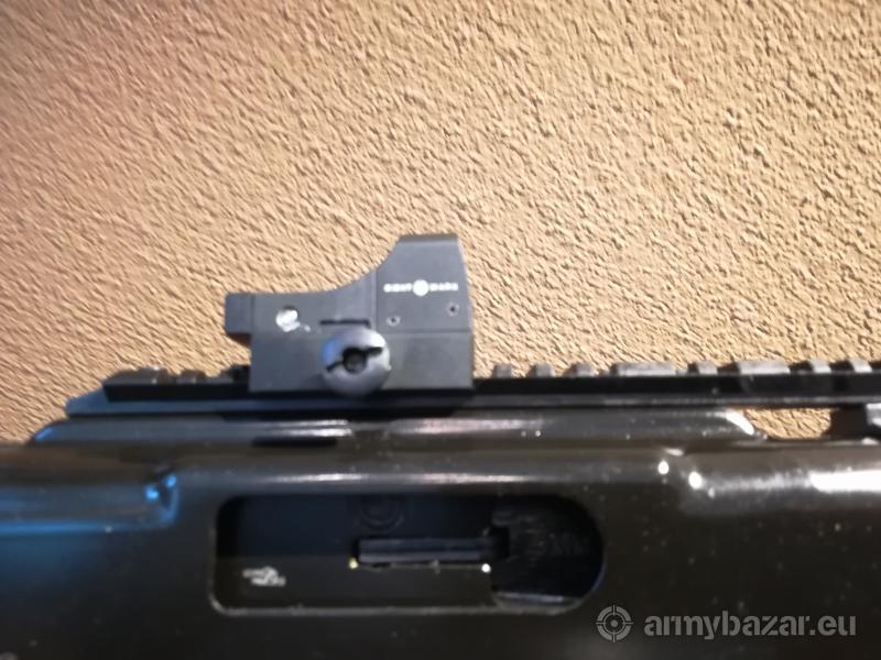 Karabina v pištolove ráži 9 mm Luger