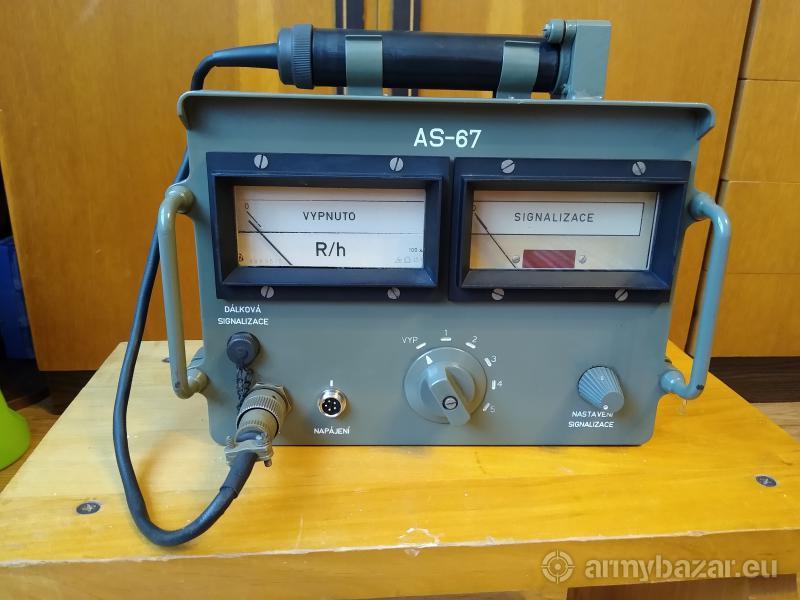 Automatický signalizátor úrovně radiace AS-67
