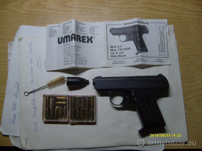 Reck Perfekta FBI 8000 gáz riasztó pisztoly