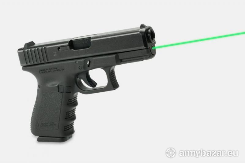 Laser Max GREEN Glock 19 4 gen.