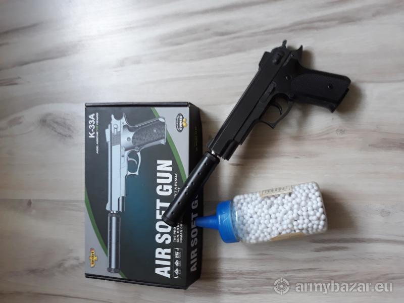 Air Soft Gun K-33