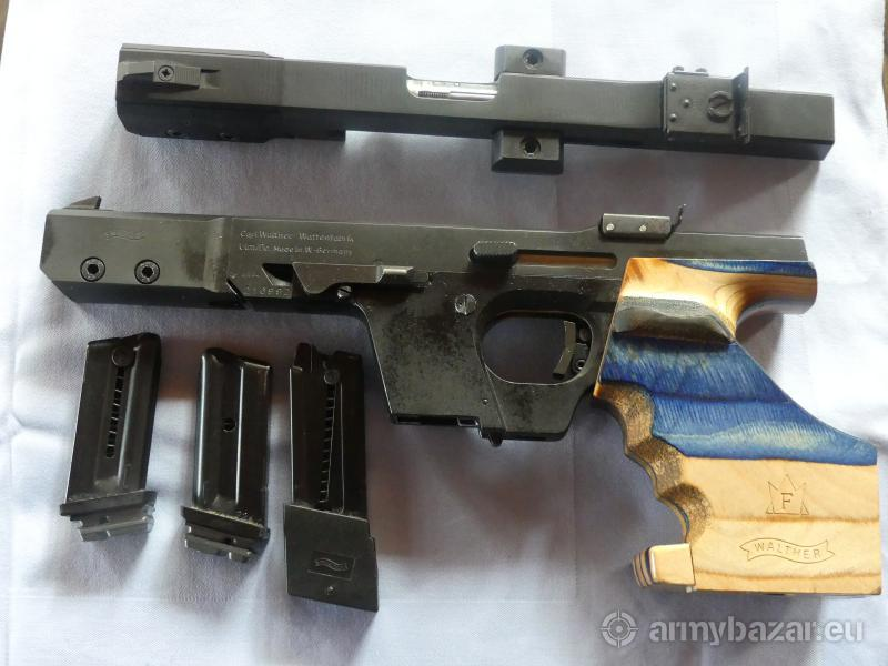 Walther Sportpisztoly cal. 22-32