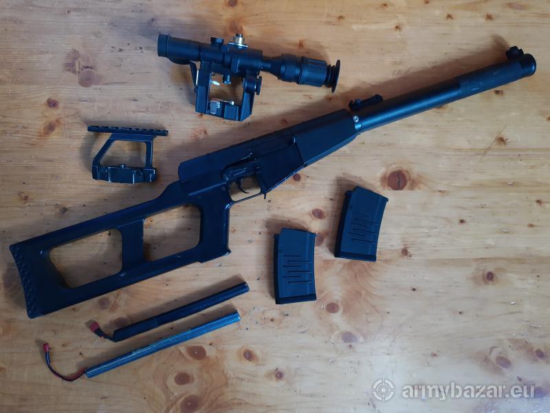 airsoftova zbran VSS Vintorez