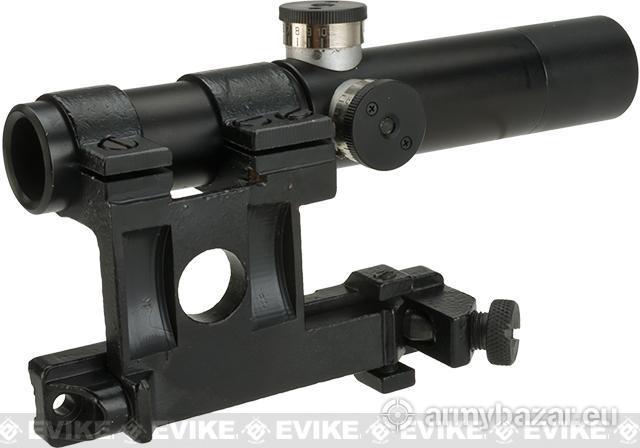 Optika Mosin Nagant PU 3,5x22 Sniper vz.1941
