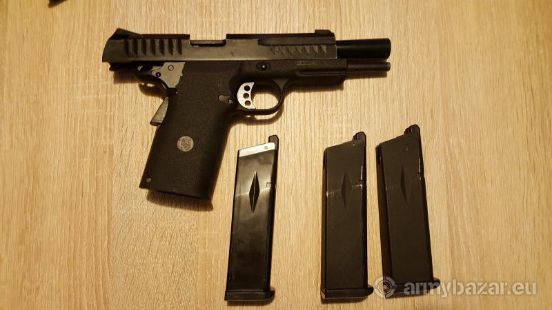 Airsoft KJW KP-08 pisztoly