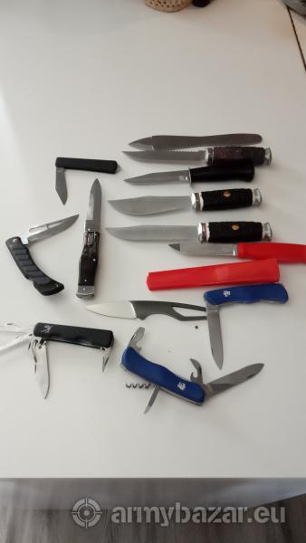 Abírka nožů Mikov